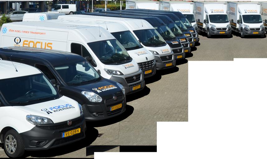 Wagenpark Focus Koeriers